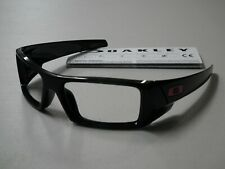 15fbd8ec65 Authentic Oakley Gascan Polished Black Red Icons Sunglasses Frame  OO9014-4460