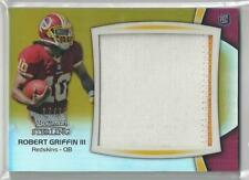 2012 BOWMAN STERLING GOLD REFRACTOR ROBERT GRIFFIN III RC PATCH 17/25!!