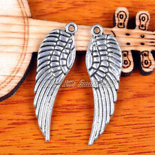 20Pieces 30mm Angel Bird Wing Pendant Charms Tibetan Silver DIY Jewelry H7099