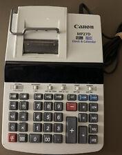 Canon Mp27D Business Calculator, Clock, and Calendar