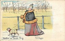 POSTCARD  COMIC   Mother  in  Law's  Dog       R  Rowland