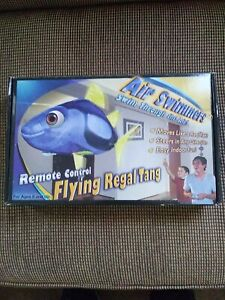 Flying Regal Tang Remote Control Toy Balloon by Air Swimmers Gift New Open Box