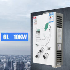 6L 10KW Tankless Liquid Propane Gas House Instant Hot Water Heater Boiler