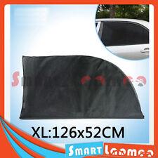 2X Car Rear Side Window Socks Sun Shade Black Mesh SUV Sox UV Protection XL AU