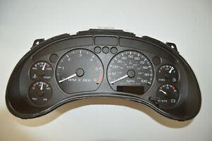 98-01 Olds Bravada GMC Jimmy Speedometer Instrument Cluster gauges 15063204