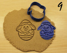 Easter Bunny Eggs Cookie Cutter CHOOSE YOUR OWN SIZE!
