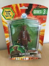 """2004 BBC DOCTOR WHO SERIES 3 6"""" SCARECROW POSEABLE ACTION FIGURE NEW SEALED"""