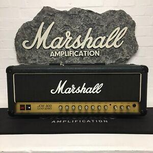 Marshall 1984 JCM 800 Lead Series 50w Split Ch. Head Model #2205 (ex Editors)