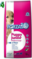 FORZA 10 PUPPY JUNIOR PESCE 15 kg medium large per cani cuccioli fish