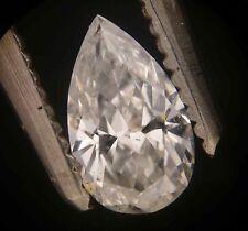 GIA Cert 0.39ct PEAR cut Diamond E SI-2