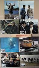 LE RAID SUICIDE DU X-1/SUBMARINE X-1  - Caan JEU A 8 PHOTOS/8 FRENCH LOBBY CARDS