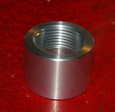 3/4 inch BSP Aluminum threaded collar for welding to inlet manifolds,sumps etc