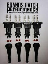4 x Fuel Injector Sensor plug connector Lancia Ducati Golf Fiat BMW Vauxhall