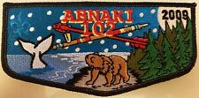 Abnaki Lodge 102 - 2009 Members Only Patch