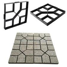 Paving DIY Pavement Concrete Stepping Driveway Stone Path Mold Patio Maker  Mould