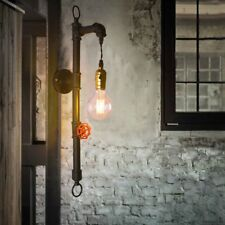 New Industrial Style Pipe Wall Light Vintage Retro Lighting Sconce Lamp Fixtures