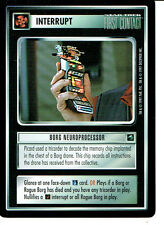 STAR TREK CCG FIRST CONTACT RARE CARD BORG NEUROPROCESSOR