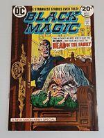BLACK MAGIC #1 Simon & Kirby reprints, Horror, DC Comics, 1973