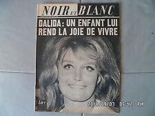 NOIR ET BLANC N°1153 06/04/1967   DALIDA   J57