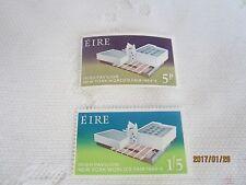 Irlanda 1964 Nuovo di zecca N H Set Di 2 S G 201-2 NEW YORK Fair 17/ISB