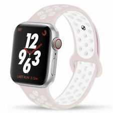 Correa deportiva silicona para Apple Watch 38/40 42/44 Correa de colores