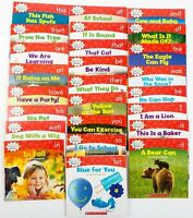 Nonfiction Sight Word Readers Guided Reading Level A Preschool Kindergarten Set