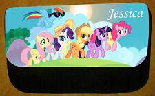 Chicas Personalizado De My Little Pony Estuche-Incluye nombre-FAB para la escuela
