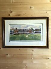 More details for lords print by terry harrison framed