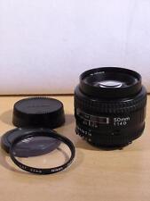Nikon AF Nikkor 50mm F1.4 D Autofocus Lens