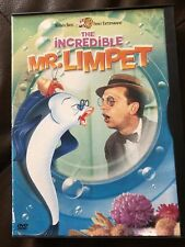 The Incredible Mr. Limpet (DVD, 1963) Don Knotts, Carole Cook