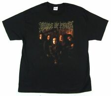 Cradle Of Filth Warm Glow Dani Band Image Black T Shirt 2XL New Official Merch