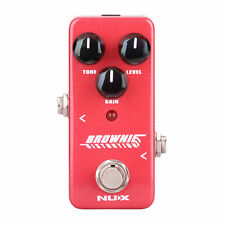 Guitar Distortion Pedal Nux NDS2 Brownie New Mini Effects Classic British Tone