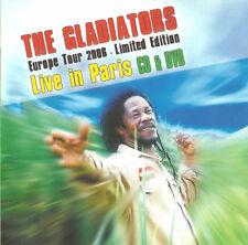 The Gladiators – Live in Paris   CD + DVD   Reggae Roots NEUF