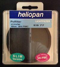 Heliopan ES 77 SH-PMC 77mm 2.5 Polfilter Circular Slim