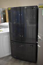 "Samsung RF260BEAESG 36"" Black Stainless French Door Refrigerator #50037 HRT"