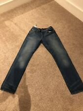 Mens G Star Jeans 33w 32L Tapered Fit