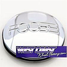 FOOSE Chrome Metal Pop In Wheel RIM Center Cap PART#1000-88