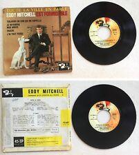 Eddy Mitchell Disque Super 45T vinyl 4 titres Toujours un coin qui me rappelle