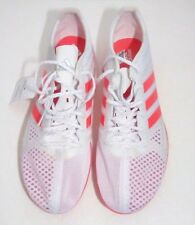 best service acab6 3399e Adidas Adizero Ambition 3-S80305, White Spiked Running Shoes - Size 11