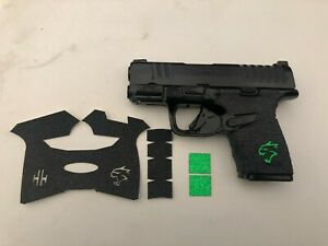 HANDLEITGRIPS  Gun Grip Enhancement for Springfield Hellcat Green