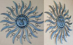 """XXL Wanddeko """"Sonne"""" 53cm aus Eisen sehr stabil Wandornament Metall"""