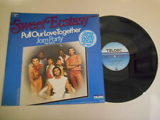 "LP POP Sweet Ecstasy-Pull our love together/Jam party 12"" (2 chanson) Teldec"