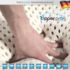Latex-Viscoelastische-TOUCH®Matratzenauflage Topper 180x200x10cm 2 Kissen Gratis günstig