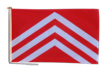 More details for glamorgan morgannwg flag with rope and toggle - various sizes
