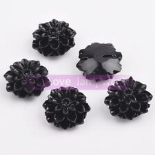 15mm Synthetic Coral Resin Flowers Loose Spacer Beads Lot Charms Jewelry Making