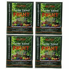 Alcotec Fruit Turbo Distillers Yeast (Pack of 4)
