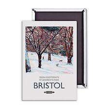 Bristol frische Fußabdrücke St Andrews Park Stahl Kühlschrankmagnet (se) reduziert