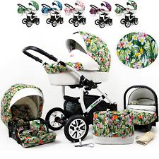 Baby Buggy 3 in 1 Sistema Viaggio Carrozzina Colorato Tutto in un passeggino unico