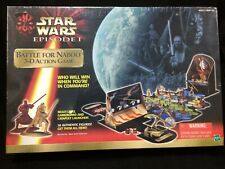 Star Wars Episode 1, BATTLE FOR NABOO 3-D ACTION GAME NIB *Donation