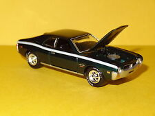 1968 AMC JAVELIN SST MUSCLE RALLY GREEN 1/64 SCALE LIMITED EDITION REAL RUBBER